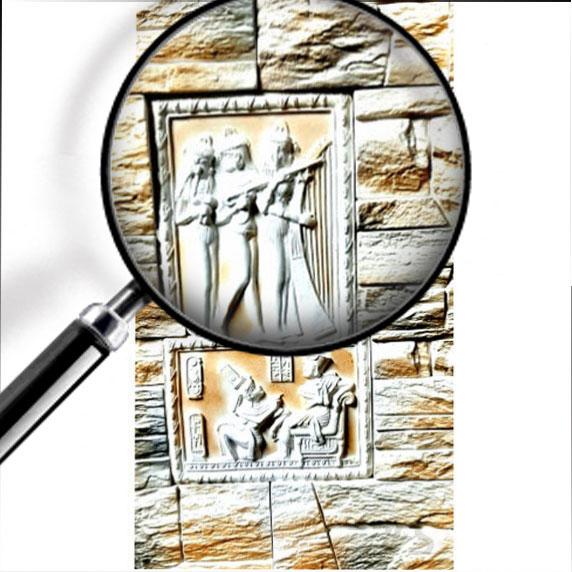 Gipsovoe panno Brilanta Egipto Noter